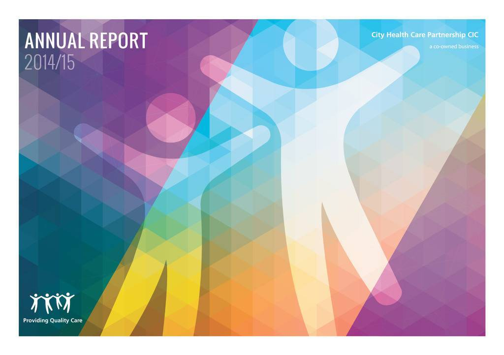 Annual Report 14/15 cover