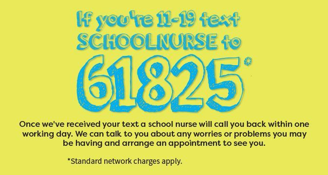 School Nurse Text Message 1
