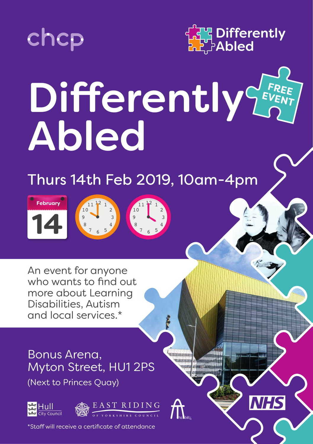 A5 Flyer Differently Abled 2019